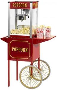 Popcorn patlamış mısırcı kiralama